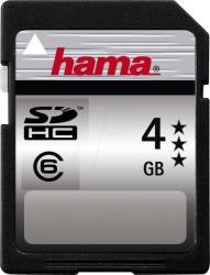 Hama SDHC 4GB Class 6 90805
