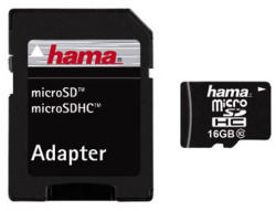 Hama MicroSDHC 16GB Class 10 108088