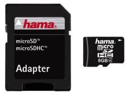 Hama MicroSDHC 8GB Class 4 108012