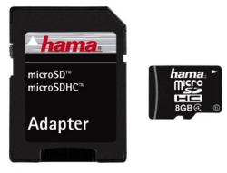 Hama MicroSDHC 8GB Class 4 108015