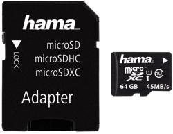Hama microSDHC 64GB Class 10 114735