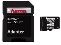 Hama MicroSDHC 8GB Class 6 108017