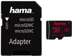 Hama microSDXC 64GB UHS-I/C3 123979
