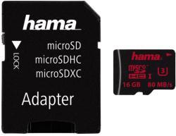 Hama microSDHC 16GB U3 123977