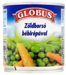 GLOBUS Zöldborsó bébirépával (200g)