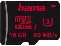 Hama microSDHC 16GB U3 123983