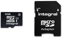 Integral microSDHC 32GB Class 10 INMSDH32G10-40U1