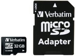 Verbatim Premium microSDHC 32GB Class 10 44083