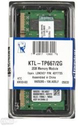 Kingston 2GB DDR2 667MHz KTL-TP667/2G