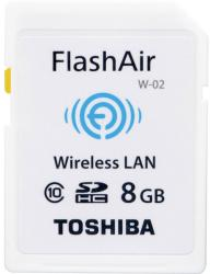 Toshiba SDHC Wi-FI FlashAir W-02 8GB SD-F08AIR03(8