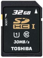 Toshiba SDHC 32GB Class 10 SD-T032UHS1BL5