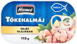 Hamé Ocean tőkehalmáj saját olajában (115g)