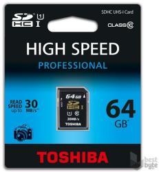 Toshiba SDXC 64GB Class 10 SD-T064UHS1(BL5
