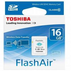 Toshiba SDHC Flash Air 16GB Class 10 SD-F16AIR03(8