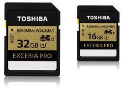 Toshiba SDHC Exceria Pro 16GB SD-XPRO16UHS2(8