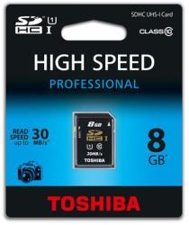 Toshiba SDHC 8GB Class 10 SD-T008UHS1(6