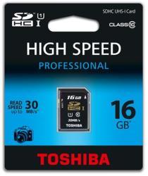 Toshiba SDHC 16GB Class 10 SD-T016UHS1(6