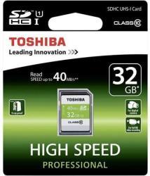 Toshiba SDHC 32GB Class 10 SD-T032UHS1(6