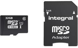 Integral MicroSDHC 32GB Class 10 INMSDH32G10-90SPTAB
