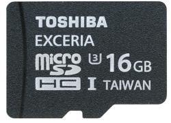 Toshiba MicroSDHC 16GB UHS-III SD-CX16UHS1