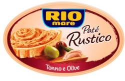 Rio Mare Paté Rustico tonhal pástétom olívabogyóval (115g)