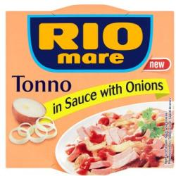 Rio Mare Tonno in Sauce tonhal vöröshagymával (160g)