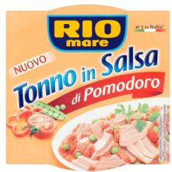 Rio Mare Tonno in Sauce tonhal paradicsom szószban (160g)