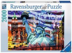 Ravensburger New York kollázs 2000 db-os (16687)