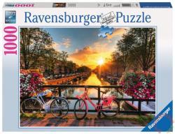 Ravensburger Kerékpárok Amszterdamban 1000 db-os (19606)