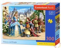 Castorland Hercegnő és lovag 300 db-os (B-030040)