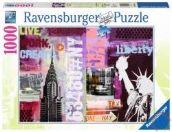 Ravensburger Stílus kollázs, New York 1000 db-os (19613)