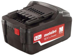 Metabo 18V 5.2Ah Li-Power (625592000)