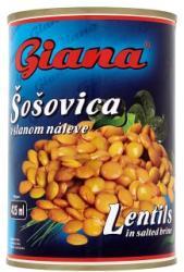 Giana Lencse sós lében (400g)