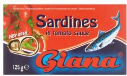 Giana Szardínia paradicsomos mártásban (125g)