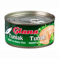 Giana Tonhal darabok sós lében (185g)