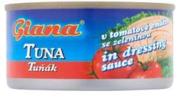 Giana Tonhal darabok paradicsom szószban zöldséggel (185g)