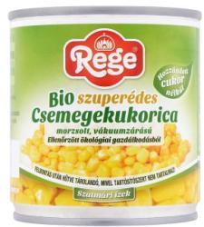 Rege Bio szuperédes csemegekukorica (170g)