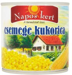 Napos kert Csemege kukorica (340g)