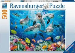 Ravensburger Delfinek a korallzátonyon 500 db-os (14710)