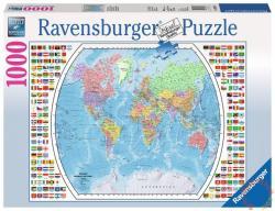 Ravensburger Világtérkép 1000 db-os (19633)