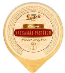 Snack Príma kacsamáj pástétom hízott májból (100g)