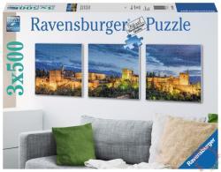 Ravensburger Az Alhambra alkonyatkor 3x500 db-os (19918)