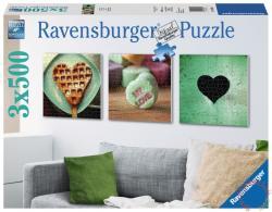 Ravensburger Szíve vágya 3x500 db-os (19921)