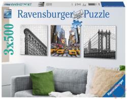 Ravensburger New York City hangulatképek 3x500 db-os (19923)