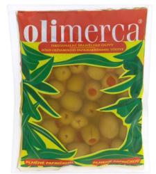 Olimerca Zöld olívabogyó paprikakrémmel (180g)