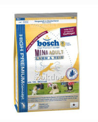bosch Adult Mini Lamb & Rice 3kg