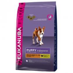 Eukanuba Puppy & Junior Medium Breed 15kg