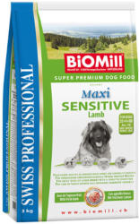 Biomill Swiss Professional Maxi Sensitive lamb & rice 12kg