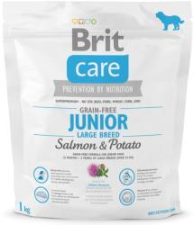 Brit Care Grain-free Junior Large Breed - Salmon & Potato 1kg