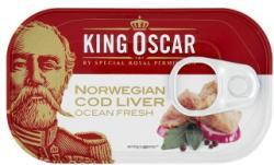 King Oscar Tőkehalmáj saját olajában babérlevéllel (121g)